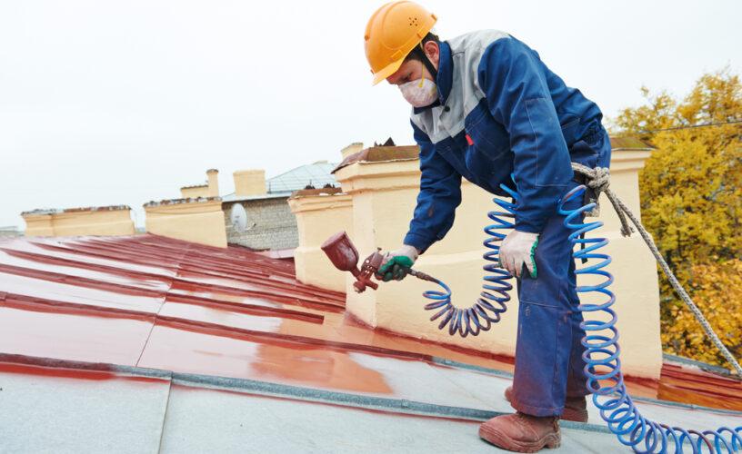 farba do malowania dachu